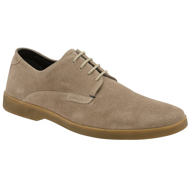 Biscuit Woburn Suede Derby Shoe | Frank Wright