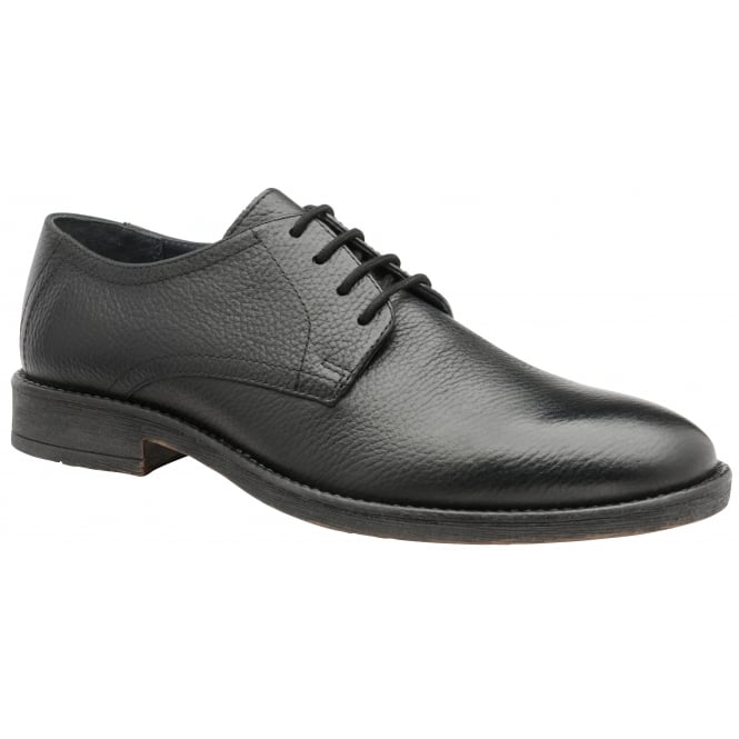 Black Alder Leather Derby Shoe | Frank Wright