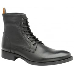 Black Birch Leather Derby Boot | Frank Wright