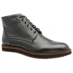 Black Duane Leather Derby Boot | Frank Wright