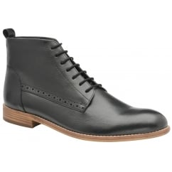 Black Eden Leather Casual Boot | Frank Wright