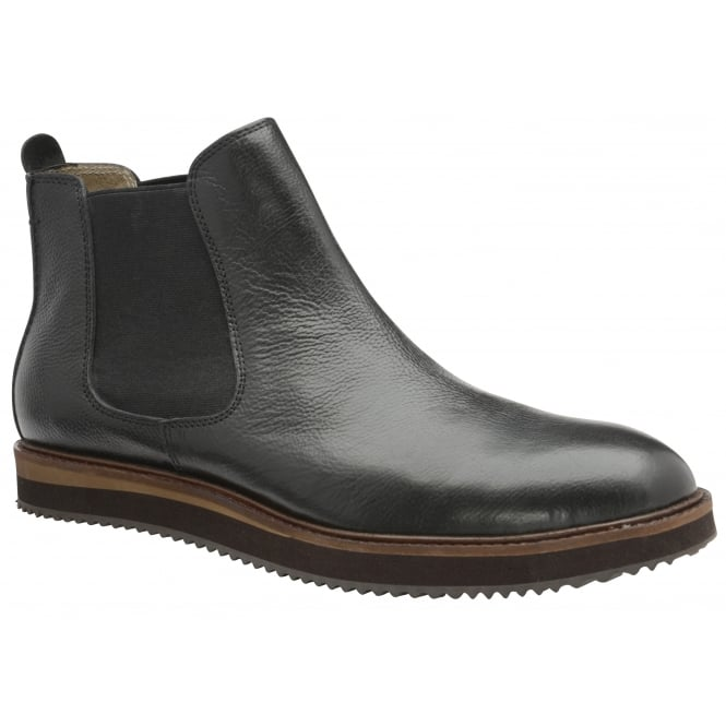 Black Edwin Leather Chelsea Boot | Frank Wright
