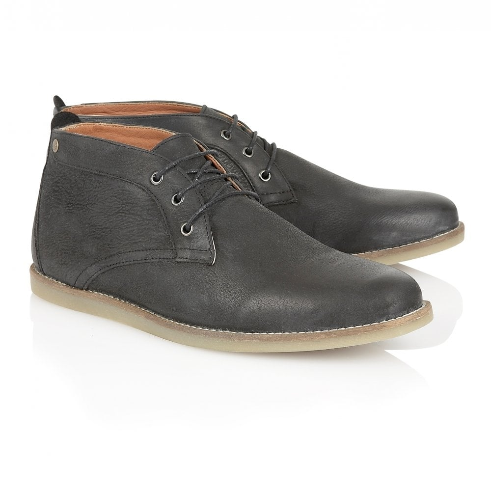Black Gee Leather Chukka Boot | Frank Wright