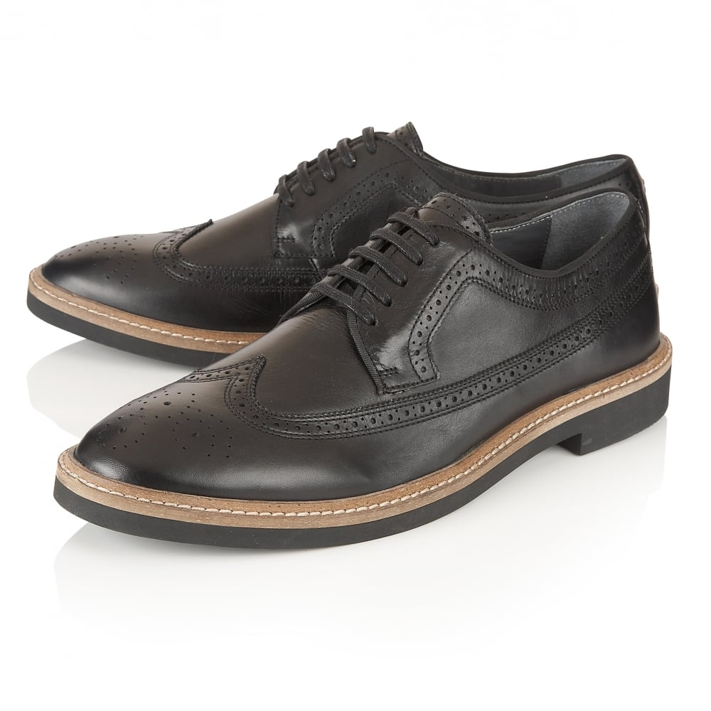 ASOS DESIGN Wide Fit derby shoes in black suede natural sole. £ Ted Baker Twrens brogue boots in black leather. £ ASOS DESIGN oxford brogue shoes in black leather. River Island Brogues In Black. £ River Island suede brogues with sole detail in tan. £ ASOS DESIGN Brogue Shoes In Burgundy Leather.