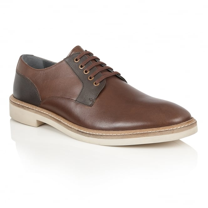 Brown Banff Leather Derby Shoe | Frank Wright