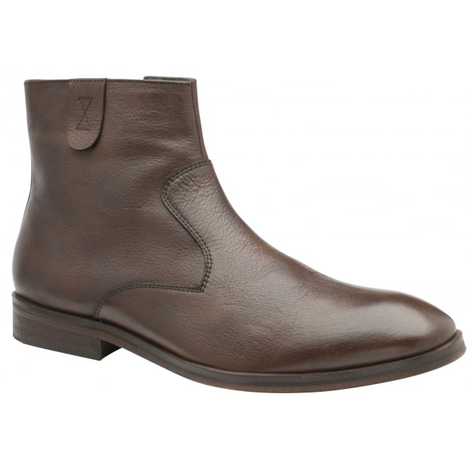Brown Edison Leather Casual Boot | Frank Wright