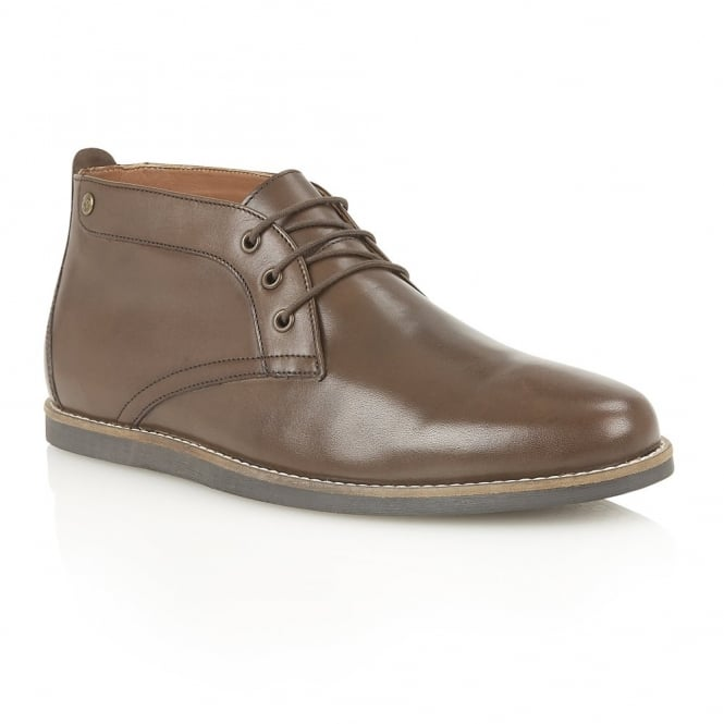 Brown Gee II Leather Chukka Boot | Frank Wright