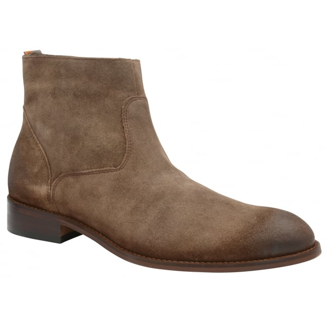 Brown Hardin Suede Desert Boot | Frank Wright