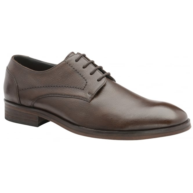 Brown Newton Leather Derby Shoe | Frank Wright