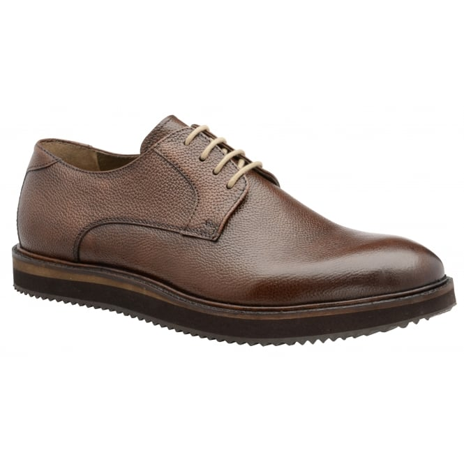 Brown Tom Leather Derby Shoe | Frank Wright