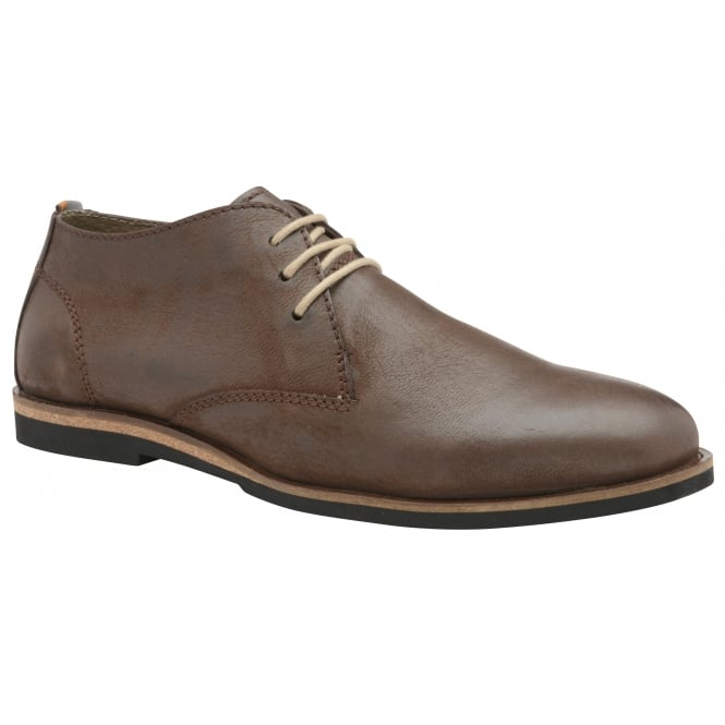 Brown Van Leather Derby Shoe | Frank Wright
