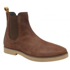 Brunette Dutch Suede Chelsea Boot | Frank Wright