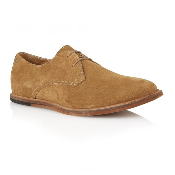 Frank Wright Busby Butterscotch Suede Derby Shoe