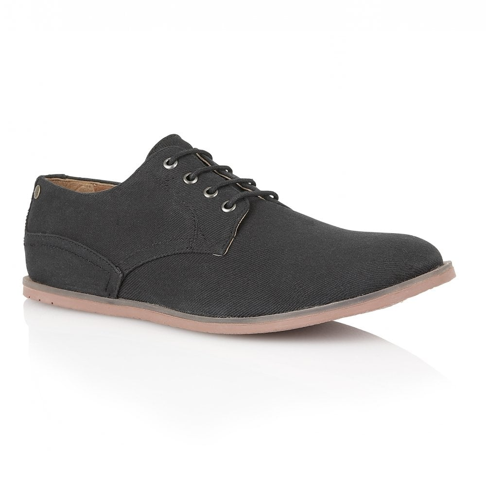 buy s frank wright danza black canvas shoe