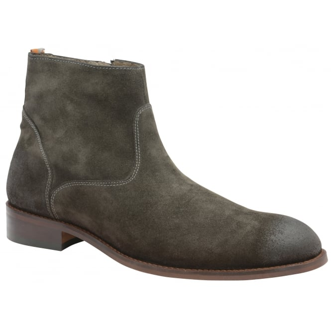 Dark Grey Hardin Suede Desert Boot | Frank Wright
