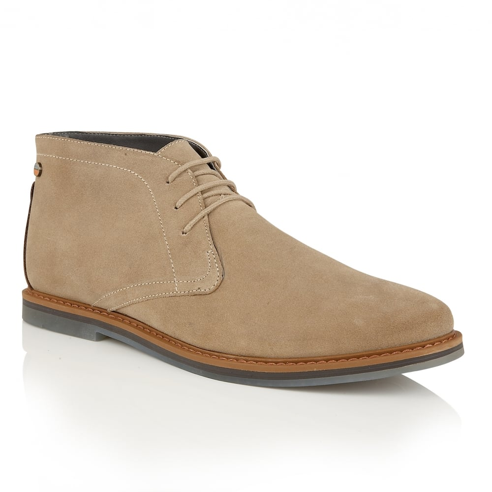 Buy men's Frank Wright Barnet II Sand Leather Chukka Bootonline