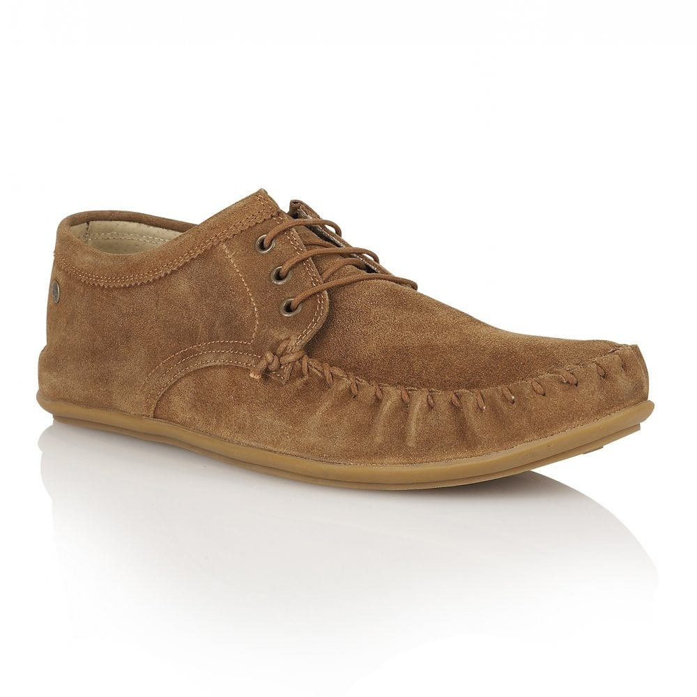 f064b0853e8 Buy men s Frank Wright Barts Tan Suede Loafer online