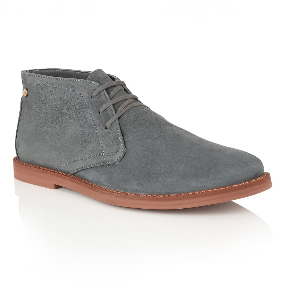 Bath Anthracite Oxide Lace Up Boot