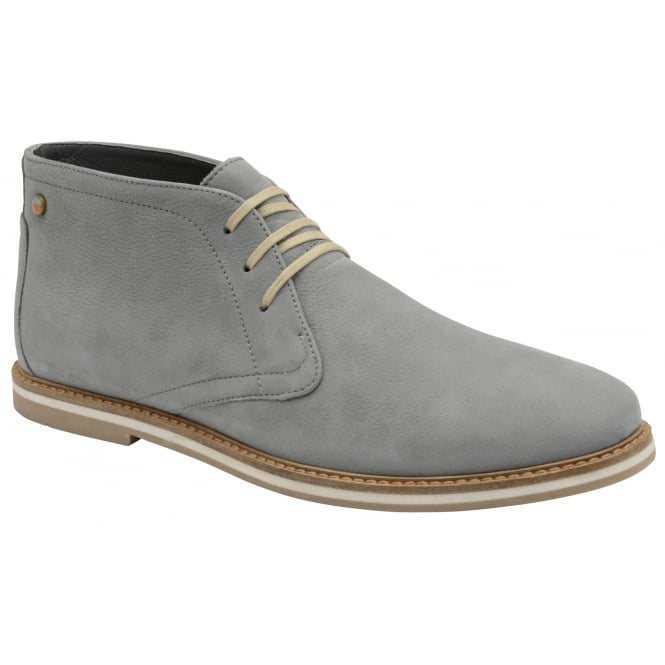 Frank Wright Bath Grey Oxide Lace-up Boot