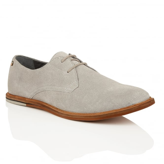 Frank Wright Busby Grey Suede Derby Shoe