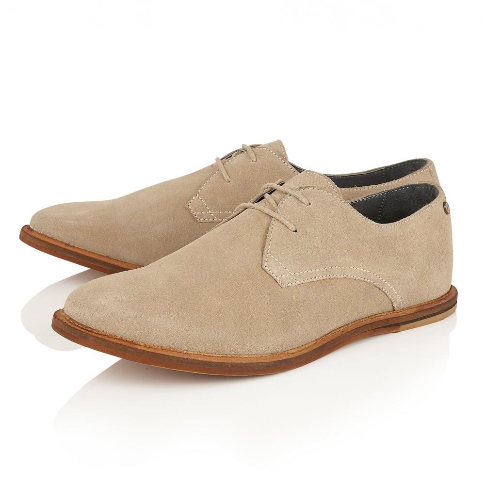 Busby Sand Suede Derby Shoe