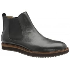 Edwin Black Milled Leather Chelsea Boot