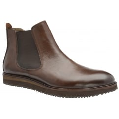 Edwin Brown Milled Leather Chelsea Boot