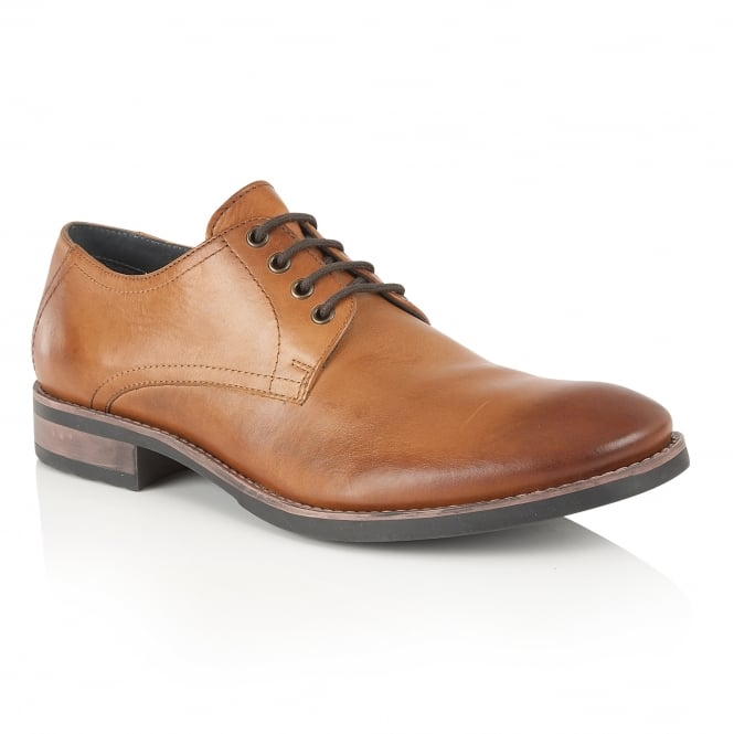 Frank Wright Elm Tan Leather Derby Shoe