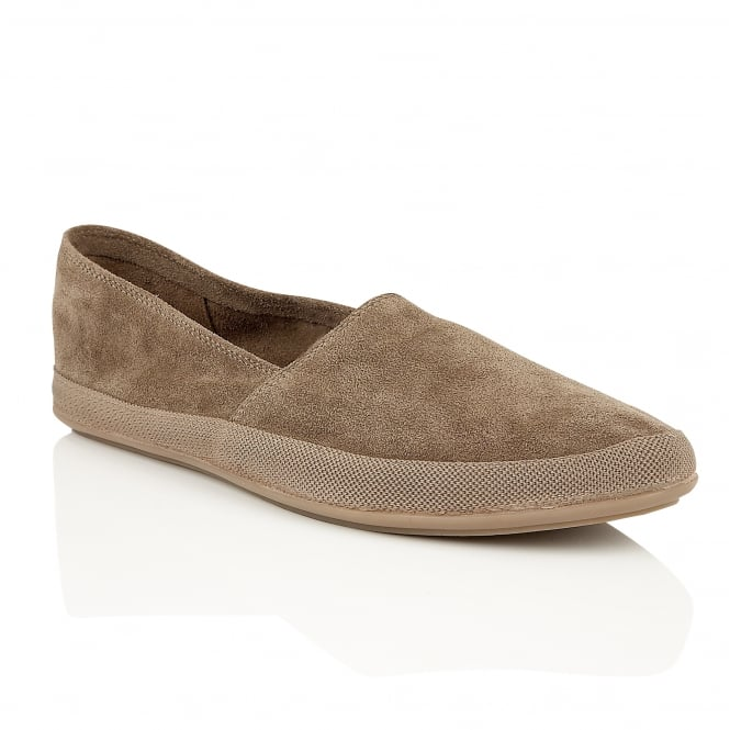 Frank Wright Havana Taupe Suede Espadrille