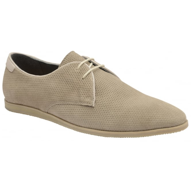 Frank Wright Karl Sand Suede Derby Shoe