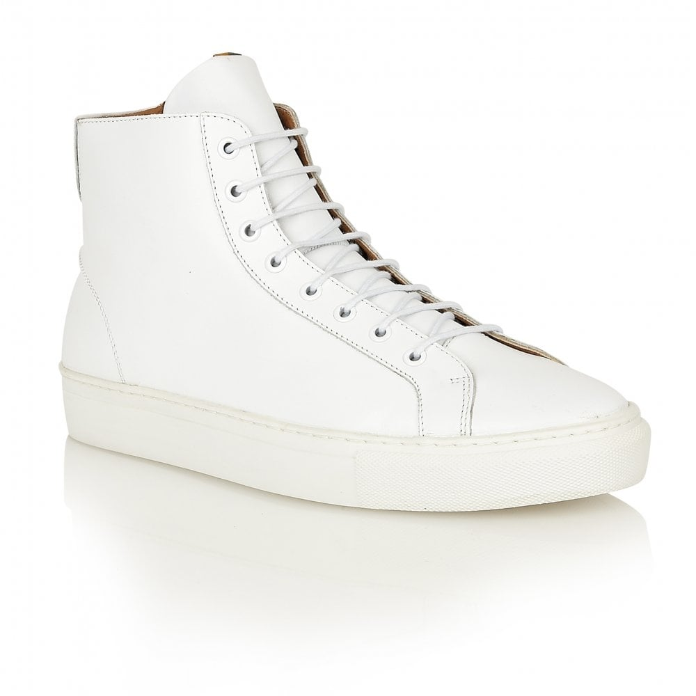 buy s frank wright logan white leather high tops