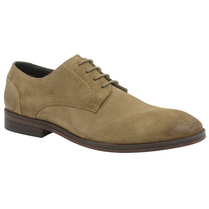 Frank Wright Newton Sahara Sand Suede Derby Shoe