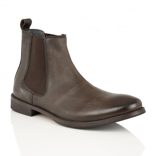 Frank Wright Omar Brown Leather Chelsea Boot