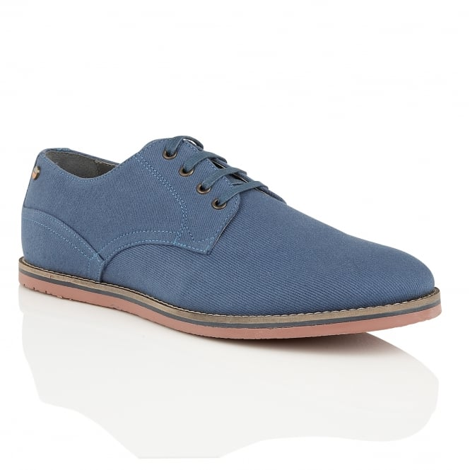 Frank Wright Palma Blue Canvas Plimsoll