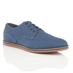 Palma Blue Canvas Plimsoll