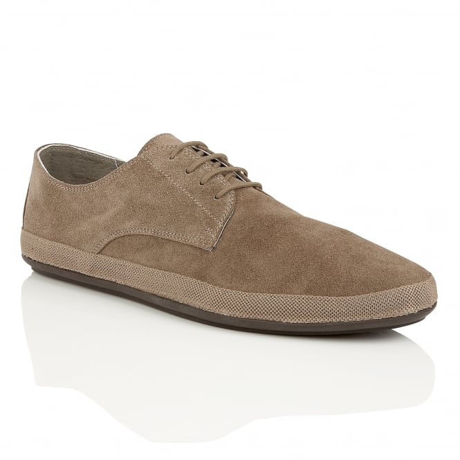 Frank Wright St Lucia Taupe Suede Espadrille