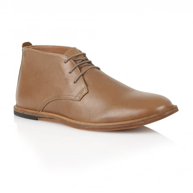 Frank Wright Strachan Rust Leather Lace-up Boot