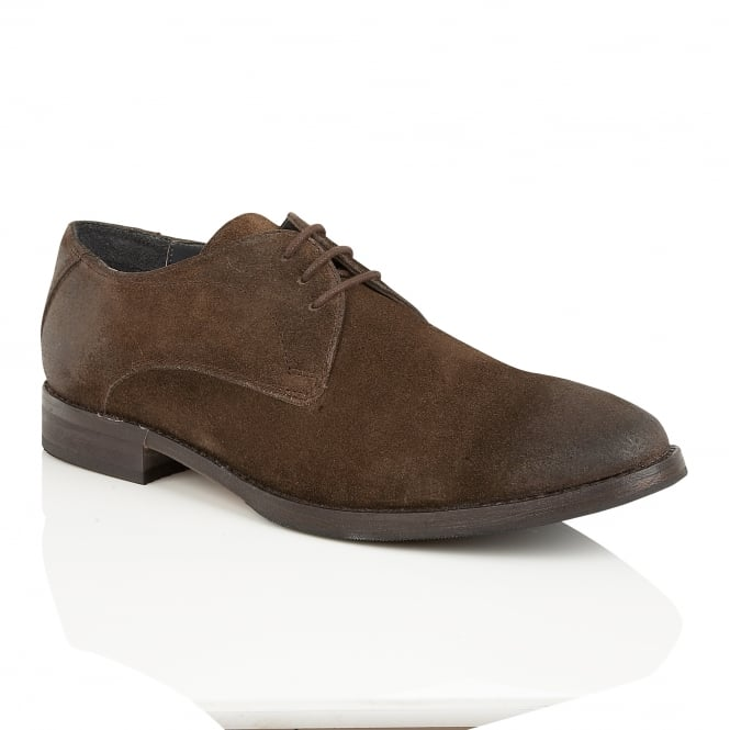 Frank Wright Stringer Brown Leather Derby Shoe