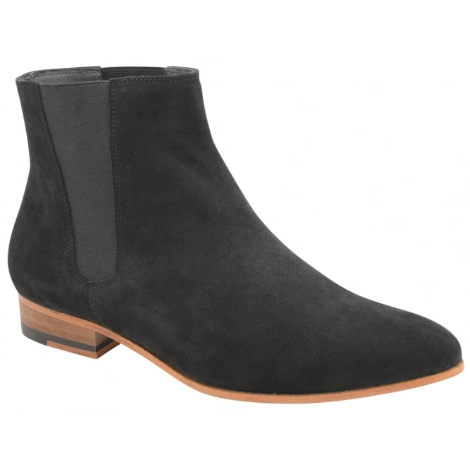 Frank Wright Sundance Black Suede Chelsea Boot
