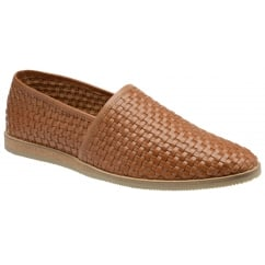 Taxi Tan Leather Slip-on Shoe
