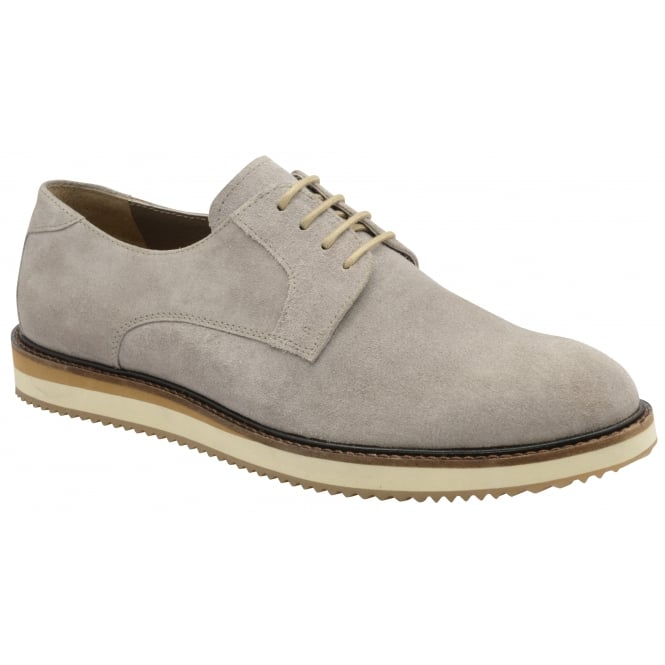 Frank Wright Tom Grey Suede Derby Shoe