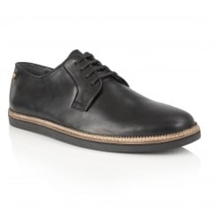 Turpin Black Leather Shoe