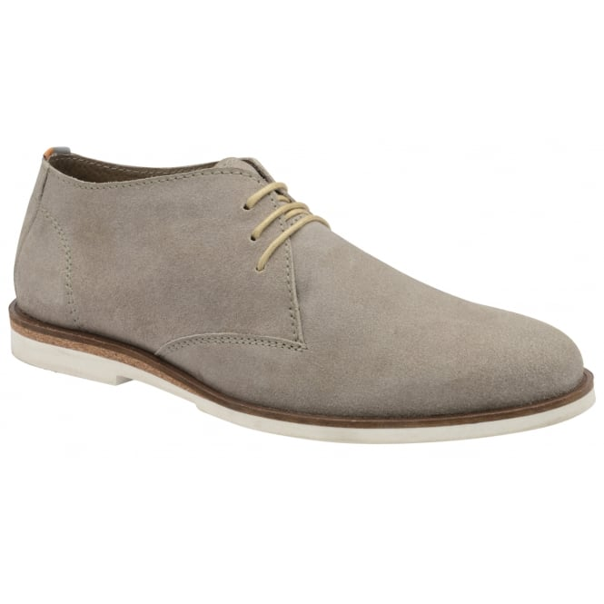 Frank Wright Van Grey Suede Lace-up Boot
