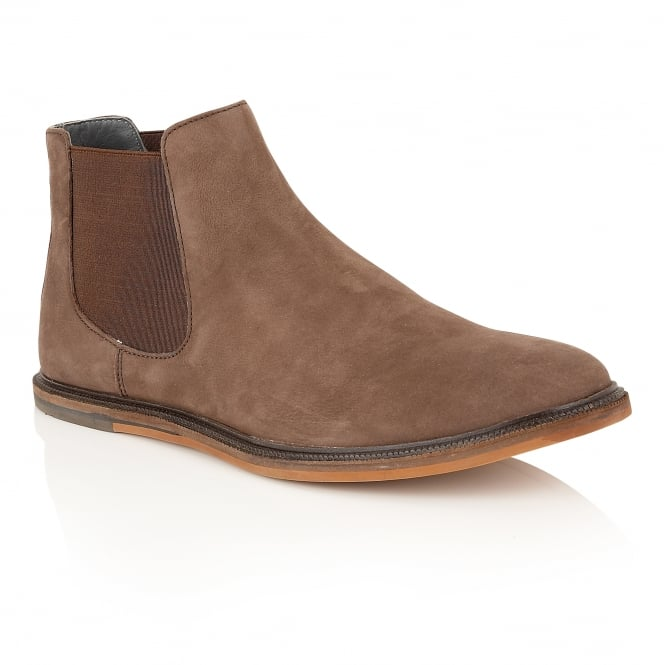 Frank Wright Vogts Hazel Oxide Leather Chelsea Boot