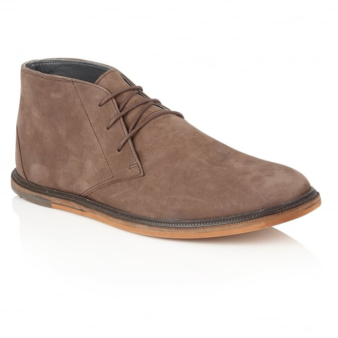 Frank Wright Walker Hazel Oxide Leather Lace-up Boot