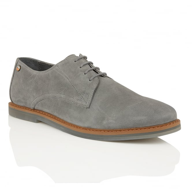 Frank Wright Woking II Pewter Leather Derby Shoe