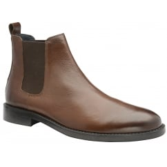Wyatt Tan Leather Chelsea boot