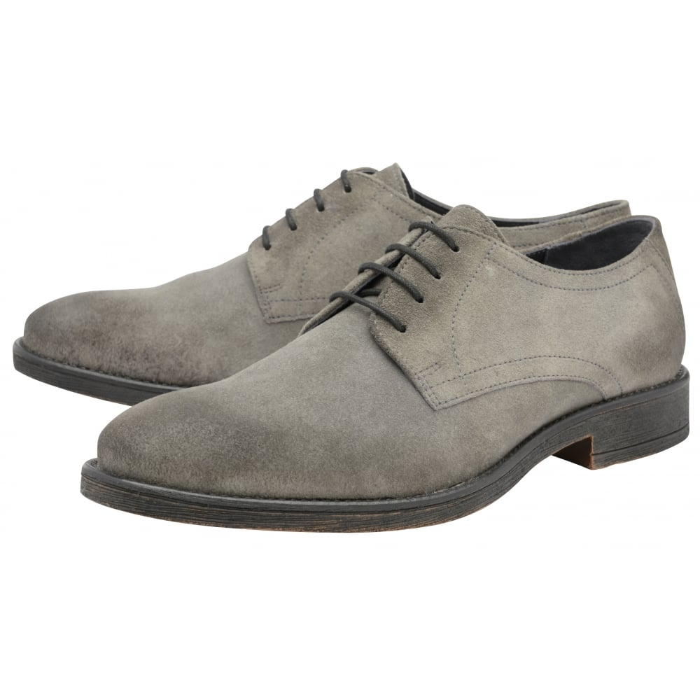 free shipping hot sale sale release dates Grey suede derby shoes vEqMGrQm