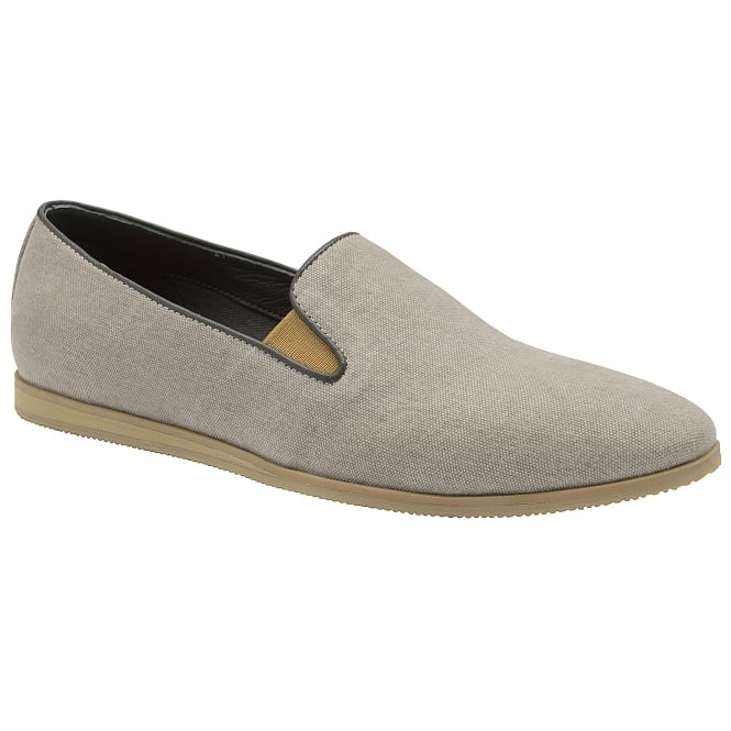 Grey Shire Canvas Casual Shoes | Frank Wright