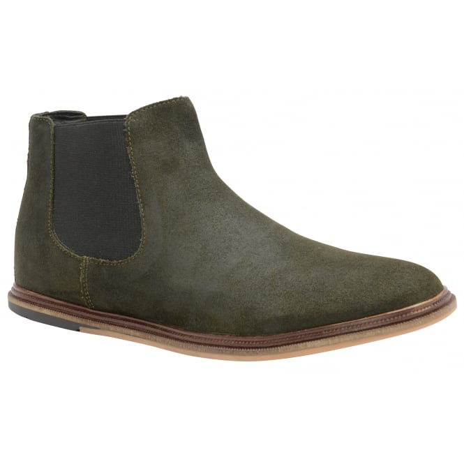 Khaki Vogts Suede Chelsea Boot | Frank Wright